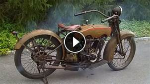 Starting Rusty 1924 Harley Davidson After Years