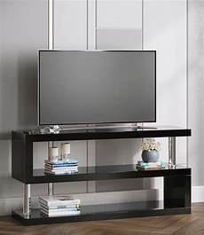 tv racks miami high gloss modern tv stand unit black manchester