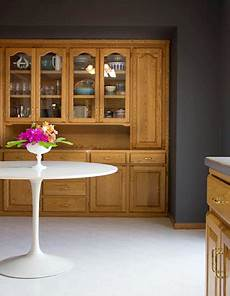 use high contrast paint with the honey oak charcoal gray honey oak cabinets oak cabinets