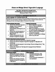 lesson plans for house on mango street house on mango street lesson plan figurative language tpt