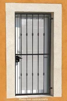 Grille Ouvrante En Fer Forg 233 Vincent 1 Vantail Doors Gates