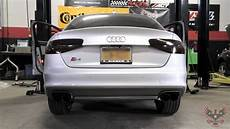 2013 audi s4 awe tuning downpipe non resonated and catback exhaust real auto dynamics