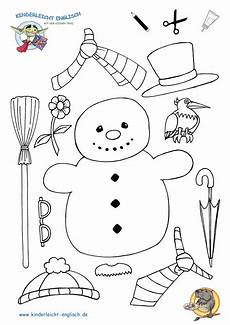 Schneemann Bastelvorlage Snowman Coloring And Coloring Pages On