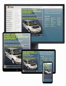 free service manuals online 2006 ford freestar electronic valve timing 2006 ford freestar haynes online repair manual 1 year access ebay