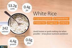 Rice Nutrition Facts Calories Carbs And Health Benefits