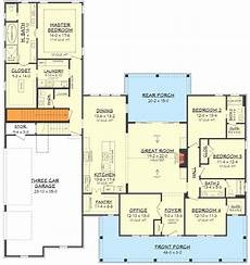 four bedroom house plans with basement fresh 4 bedroom farmhouse plan with bonus room above 3 car