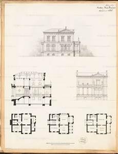 Grundriss Keller Erdgeschoss Obergeschoss Aufriss