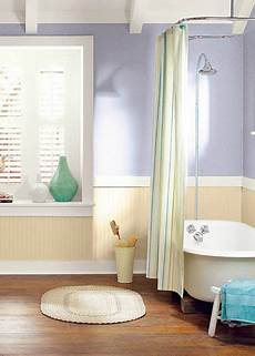 this neutral rustic bathroom is complete with behr noble purple powdered gold and silky