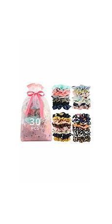 amazon com 60 pcs premium velvet hair scrunchies hair