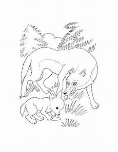 malvorlagen zum ausdrucken ausmalbilder wolf kostenlos 3