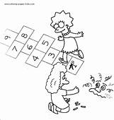 Free Simpsons Coloring Pages  Letscoloringpagescom