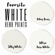 favorite behr white paint colors list in progress