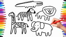 draw so animals coloring pages 17359 how to draw animals coloring pages for coloring animals animation drawing