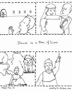 coloring pages 17603 daniel sequence 1 jpg 1 700 215 2 160 p 237 xeles with images daniel and the lions coloring