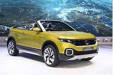 vw t cross concept is a small convertible crossover
