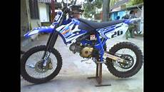 F1zr Modif Trail by Modifikasi Motor Trail Dari Motor Poswan Yamaha F1zr