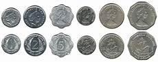 Oost Caribische Dollar Valuta Nationale Vlaggen
