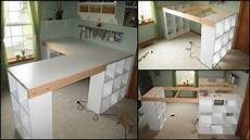 building a craft room how to build a custom craft desk the owner builder network