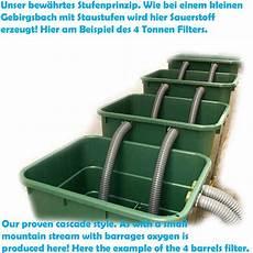 Richtiger Aufbau Teichfilteranlagen Teichpflege
