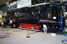 Mobile Garage Rv by Luxurious Motor Coach With Built In Garage Luxury