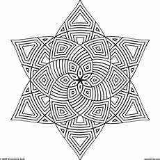 Coloring Geometric Pages Geometric Design Coloring Pages To And Print For Free