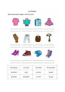 worksheets les vetements 18940 clothing power point presentation les vetements worksheets les vetements