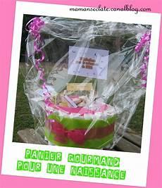 Panier Gourmand Cadeau Pour Une Naissance Maman S 233 Clate