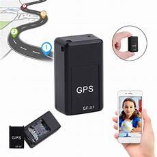 magnetic mini car gps tracker locator gsm gprs usb voice