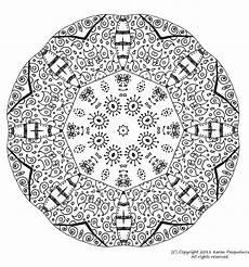Mandala à Imprimer Pour Adulte Mandala 6 Mandalas Coloriages Difficiles Pour Adultes