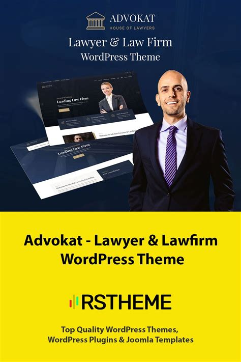 legalized modern business wordpress theme