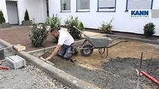 Rasenkantensteine Verlegen Ohne Beton - anleitung randsteine setzen