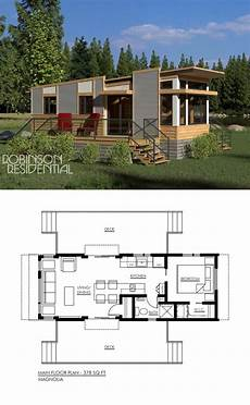 modern one bedroom house plans contemporary magnolia 378 tiny house plans small house