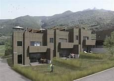 Construction D Une Ensemble De Maison Mitoyenne En Bois 224