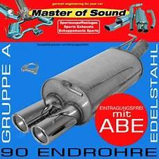 master of sound edelstahl auspuff ford mondeo turnier ba7