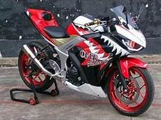 Modifikasi Motor R25 by Modifikasi Motor Yamaha Yzf R25 Sangar Gahar