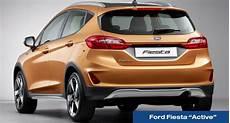Textbild Heckansicht Ford Active Amzgruppe