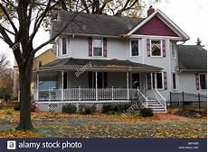 Typisches Amerikanisches Haus - typical american house illinois united states