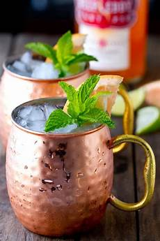 ruby red moscow mule a communal table