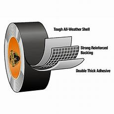 Photograpic Strong Duct Black Waterproof Thick by 32 Metre Silver Gorilla Heavy Duty Waterproof Duct