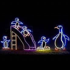 Animated Decorations Outdoor by Led Outdoor Decorations Lighted Commercial