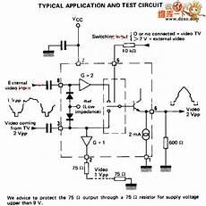 Tea2014 Application Circuit Video Circuit Electrical
