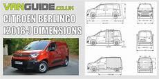 Citroen Berlingo Dimensions Vanguide Co Uk The Experts