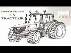 Comment Dessiner Un Tracteur 2 232 Me Partie 2 2 Hd