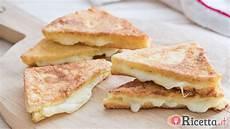 mozzarella carrozza mozzarella in carrozza facile e veloce ricetta it