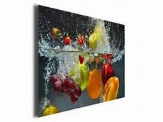 tableau pour cuisine tableau cuisine fruits en toile imprim 233 e pas cher