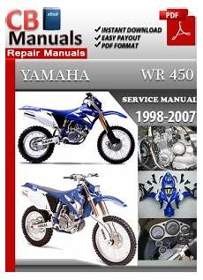 what is the best auto repair manual 2007 cadillac cts v electronic valve timing yamaha wr 450 1998 2007 service repair manual ebooks automotive