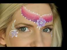 super fast princess face painting design youtube