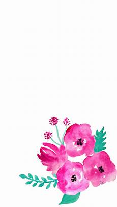 Flower Illustration Wallpaper by Free Screensaver Wallpapers Watercolour Flowers My