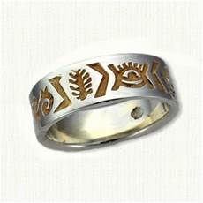 custom designed african wedding rings and wedding bands by designet
