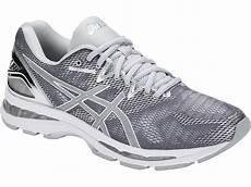 pro du sport asics gel nimbus 20 platinium chaussure running asics